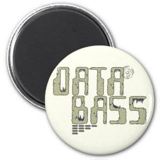 Data Bass 2 Inch Round Magnet