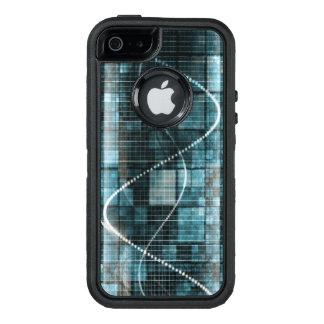Data Management Platform or DMP Technology Concept OtterBox iPhone 5/5s/SE Case