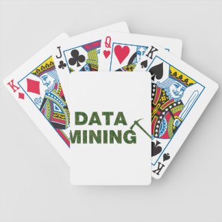 Data Mining Bicycle Playing Cards