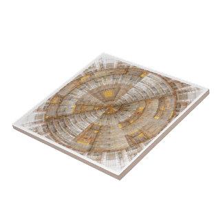 'Data Mining' Fractal Abstract Tile