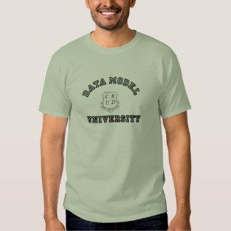 Data Model University T Shirt