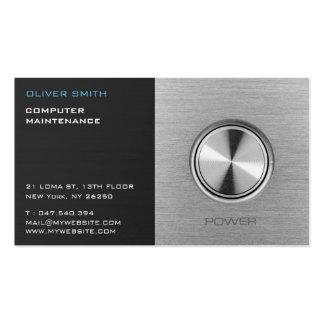 Data-processing calling card maintenance business card
