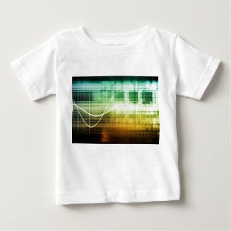 Data Protection and Internet Security Scanning Baby T-Shirt