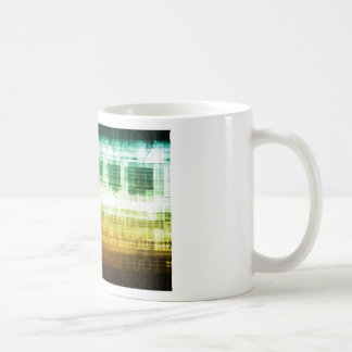 Data Protection and Internet Security Scanning Coffee Mug