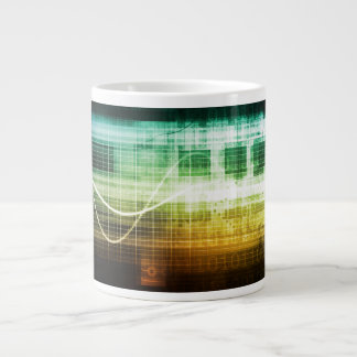 Data Protection and Internet Security Scanning Large Coffee Mug