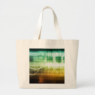 Data Protection and Internet Security Scanning Large Tote Bag