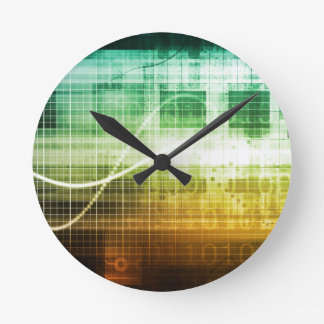 Data Protection and Internet Security Scanning Wallclocks
