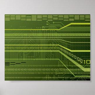 Data Stream Poster