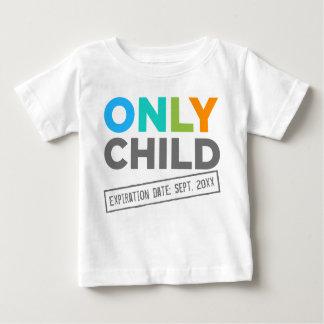 Date d'échéance d'enfant unique [votre date] t-shirt