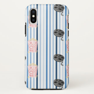 Date Night Family Movie Night Themed iPhone X Case