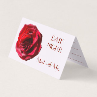 DATE NIGHT Meet with Me Card