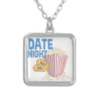 Date Night Silver Plated Necklace