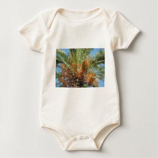 Date palm baby bodysuit