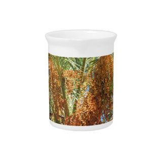 Date palm beverage pitchers
