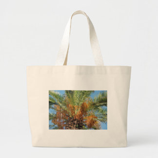 Date palm large tote bag