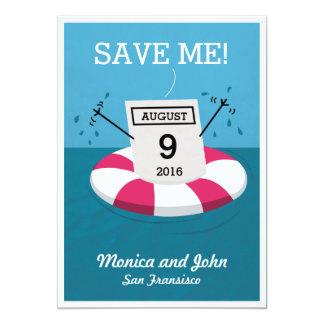Date Rescue Pun 5x7 Paper Invitation Card