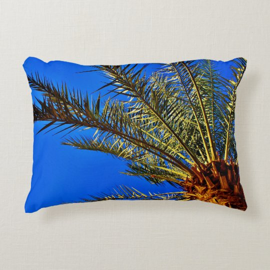 Date Tree Accent Pillow