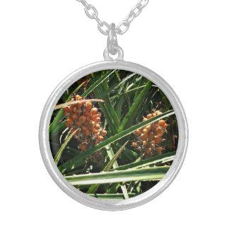 Dates in shrubs pendant