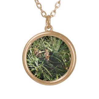 Dates in shrubs custom necklace