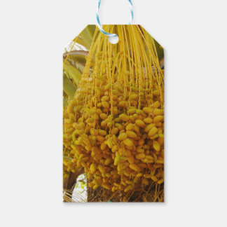 Dates on Palm Tree Gift Tag