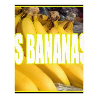 Dats Bananas Yo Personalized Letterhead