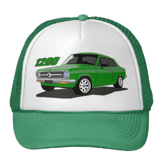 DATSUN 1200 Sedan Green Trucker Hat