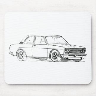 Datsun 510 mouse pad