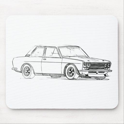 Datsun 510 mousepads