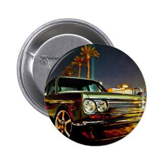 Datsun Bluebird SSS  510 coupe 2 Inch Round Button