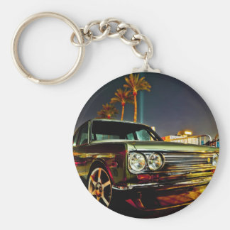 Datsun Bluebird SSS  510 coupe Basic Round Button Keychain