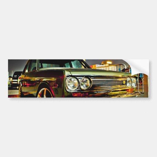 Datsun Bluebird SSS  510 coupe Bumper Stickers