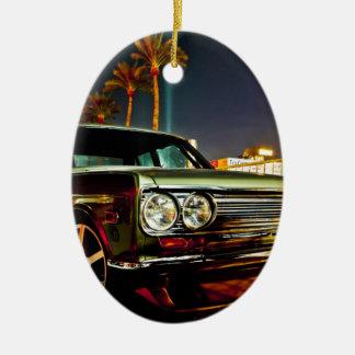 Datsun Bluebird SSS  510 coupe Ceramic Oval Ornament
