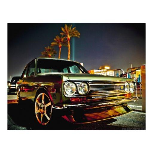 Datsun Bluebird SSS  510 coupe Letterhead