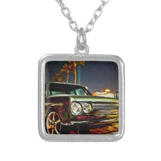 Datsun Bluebird SSS  510 coupe Square Pendant Necklace