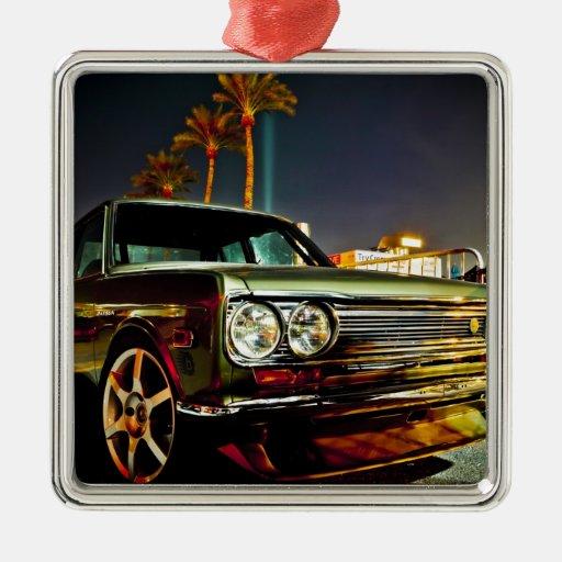 Datsun Bluebird SSS  510 coupe Christmas Tree Ornament