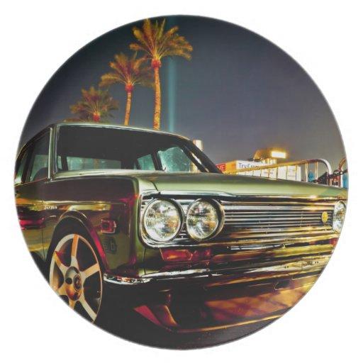 Datsun Bluebird SSS  510 coupe Plates
