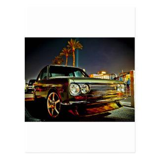 Datsun Bluebird SSS  510 coupe Postcard