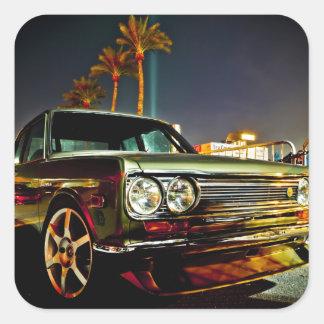 Datsun Bluebird SSS  510 coupe Square Sticker