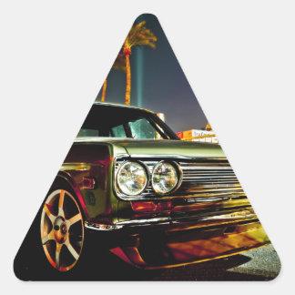 Datsun Bluebird SSS  510 coupe Triangle Sticker