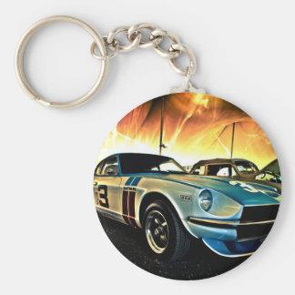 Datsun Z Race car Key Chains
