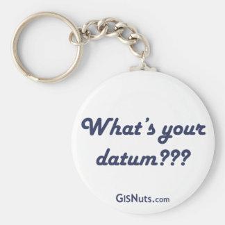 Datum Keychain
