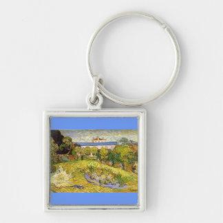 Daubigny's Garden by Vincent Van Gogh Keychain