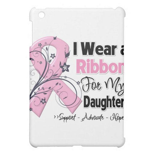 Daughter - Breast Cancer Pink Ribbon Case For The iPad Mini