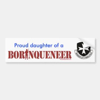 Daughter - Bumper Sticker