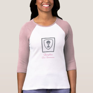 Daughter, First Communion Silver Chalice T-Shirt