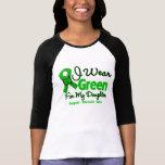 Daughter - Green  Awareness Ribbon Shirt