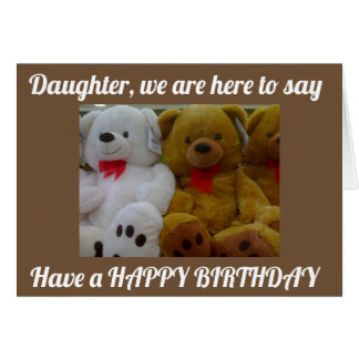 ***DAUGHTER*** HAVE A FUN AND HAPPY BIRTHDAY!!!! CARD