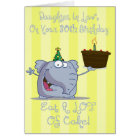 Daughter In Law Eat More Cake 30th Birthday Card
