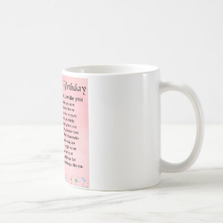 Daughter in Law Poem - 30th Birthday Coffee Mug
