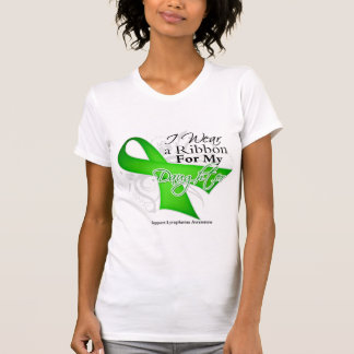 Daughter Lime Green Ribbon - Lymphoma T-Shirt